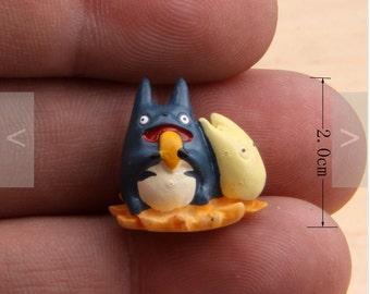 My Neighbor Totoro Studio Ghibli Mini Miniature Vinyl Figurine flower miniature terrarium Fairy Garden DIY craft supply