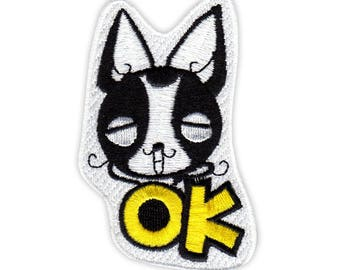 ICONA Embroidery Sticker Patch - Chihuahua - OK