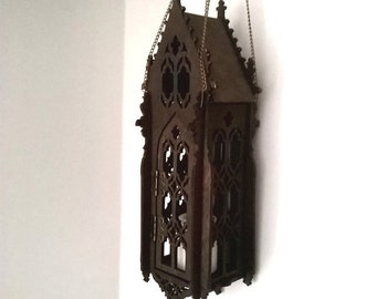 gothic lantern lighting. Gothic Lamp, Openwork Lantern, Like Medieval Cathedral Lantern Lighting T