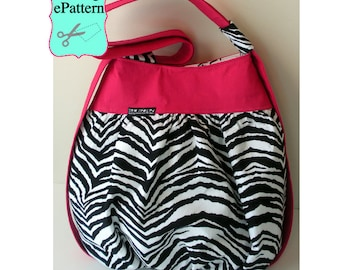 Sew Spoiled Cabrio Tote PDF Sewing Pattern