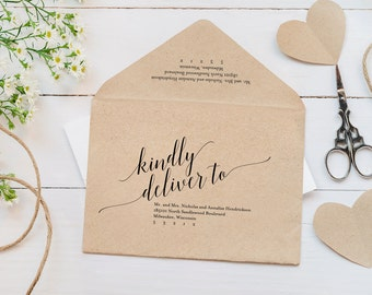 wedding invitation envelopes templates koni polycode co