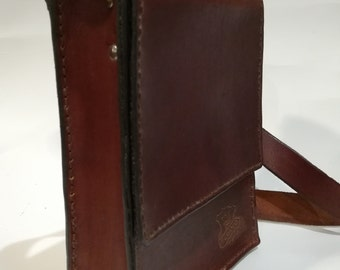 Leather wallet-leather bag