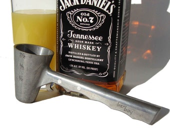 Vintage Bar-Boy Jigger w/ Corkscrew & Bottle Opener Barware