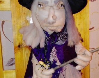 Halloween Witch OOAK Art Doll