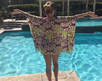 Pareo Poncho Beach and Swim Coverup