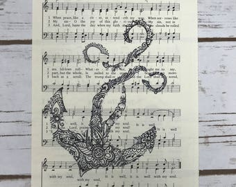 """Hymn """"It Is Well With My Soul"""" Anchor #2"""