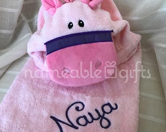 Personalized baby gifts etsy hooded towels personalized baby hooded towel personalized pony baby hooded towels baby gifts personalized baby gift unique baby gifts negle Image collections