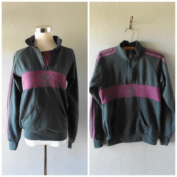 Jersey adidas trébol jersey vintage 80s jersey gris violeta gris Jersey tres cdaf98f - sfitness.xyz