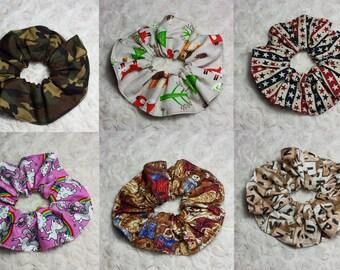 Hair Scrunchie / ponytail accessories.