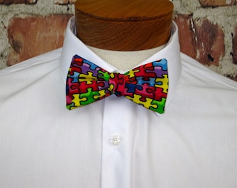 The Ethyn (Autism Awareness) Bowtie