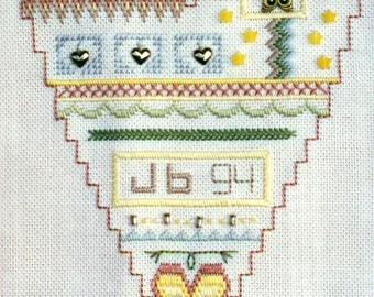 """MOSEY 'N ME """"Stitch Faster"""" Pattern #20 Hardanger Special Needlepoint Embroidery Cross Stitches"""
