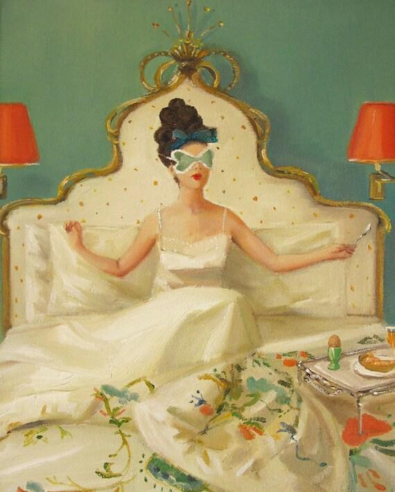 Princess Edwina Rises.  Art Print.