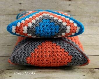 Crochet Pillow/Handmade