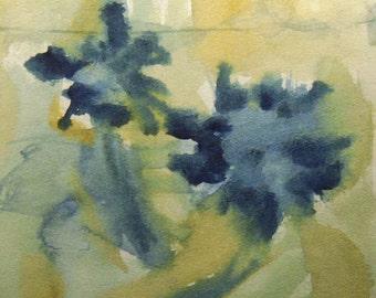 Flower Painting, Watercolor Flower Painting, Flowers, Contemporary Art, Modern Painting, Modern Art