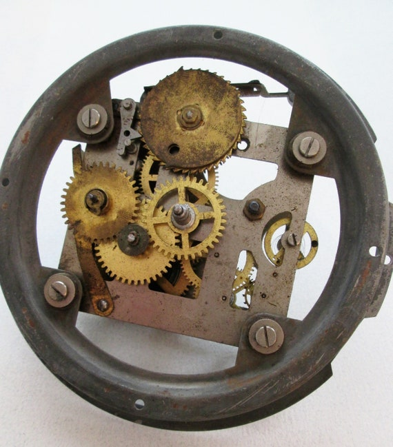 1 Vintage Westclox Big Ben Alarm Clock Partial Works for your Clock Projects - Metalworking - Steampunk Art