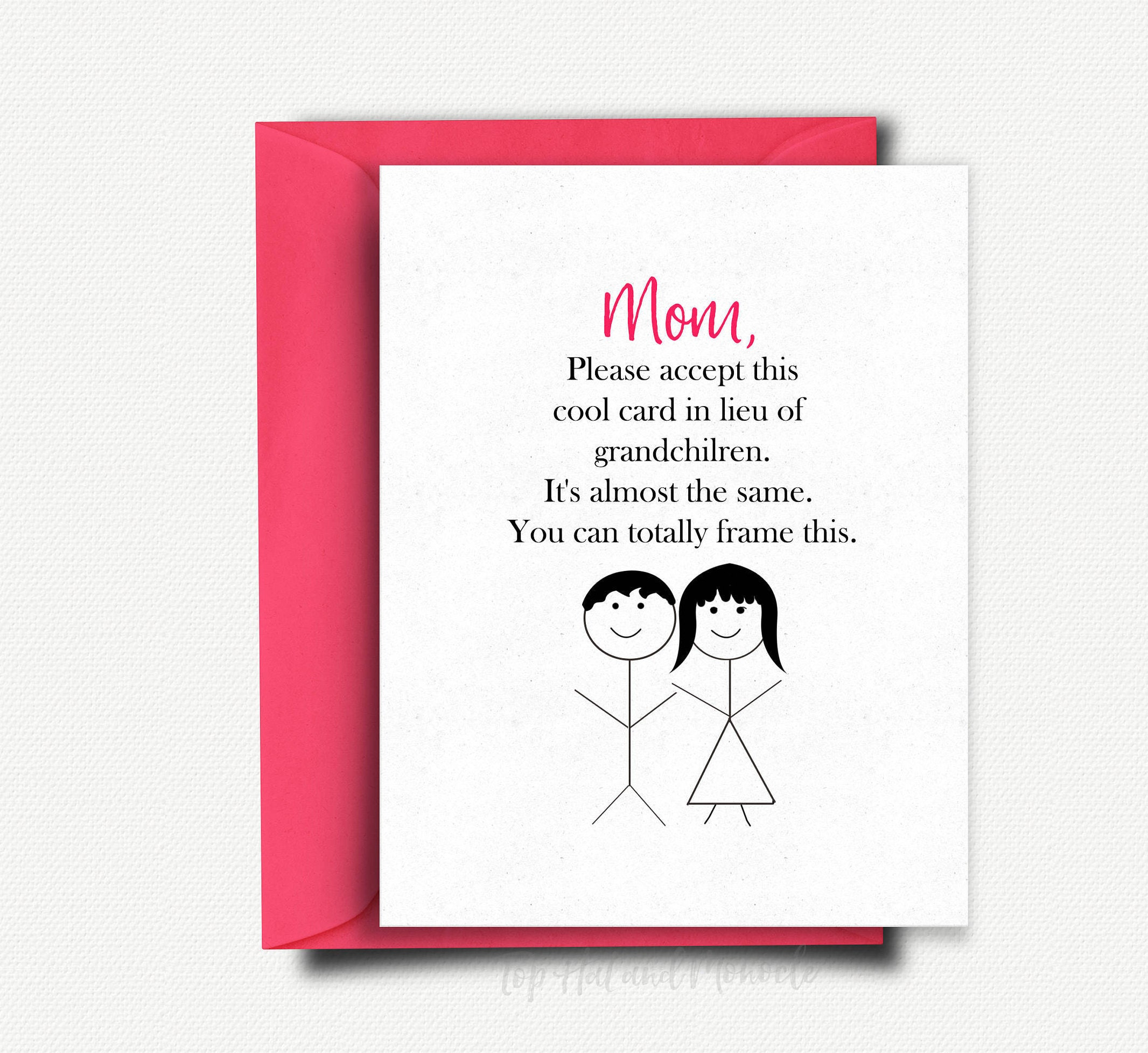 Mothers Day Gift Mothers Day Card Funny Mothers Day from