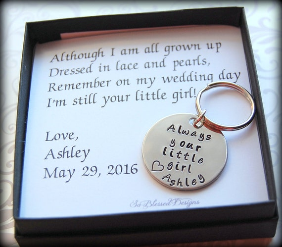 Father of the Bride Dads Keychain Gift for Father of the