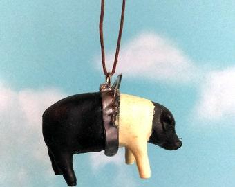 Itsy Bitsy petit Flying Pig voiture miroir accessoire