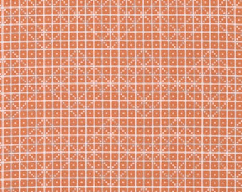 Botanique Domino in Apricot Fabric by Joel Dewberry for Free Spirit