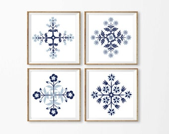 Blue Beach Art Cottage,  Square Wall Art, Nautical Art Printable, Set 4 Blue Wall Art, Dining Room Art Cottage , Seaside Bathroom, Kitchen