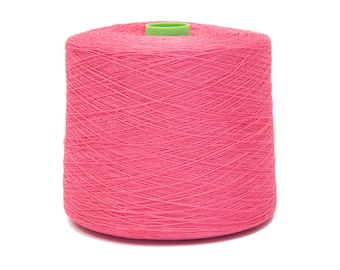 Linen Yarn Pink Twisted 5 ply 1.03 kg 36.33 oz