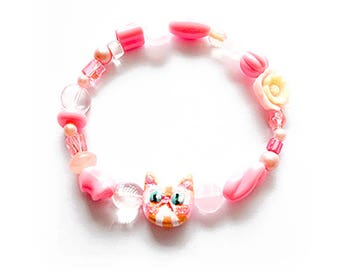 Cute Kawaii Kitten bracelet