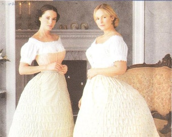 Simplicity 7216 Misses' Crinoline Sewing Pattern, 6-12