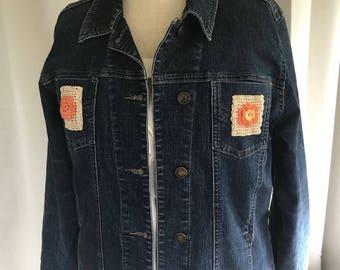 Posy Pocket Denim Jacket