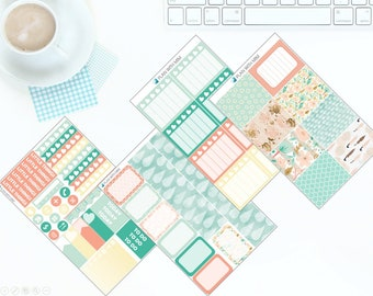 Spring Showers - Weekly Kit Stickers for Erin Condren Vertical LifePlanner *NEW PREMIUM PAPER!*