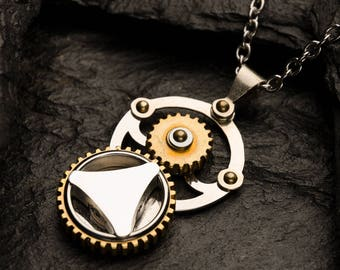 Classic-A | Gearing Pendant