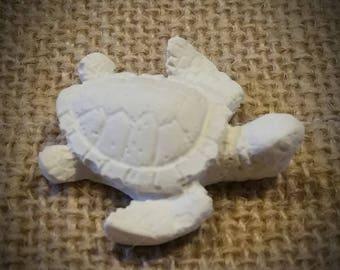 small decorative turtle raw cast