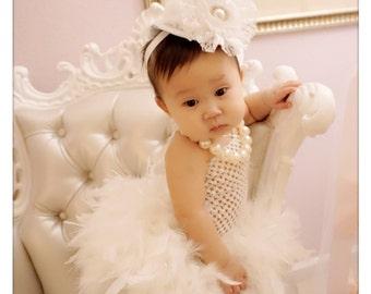 Iridescent feather tutu dress, tutu, girls dress, girls tutu, feather tutu, clothing, girls clothing, girls costume, feather dress, costume