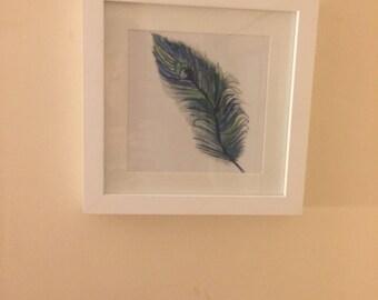 Watercolour print nature