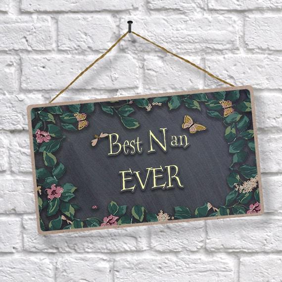 Best nan ever sign