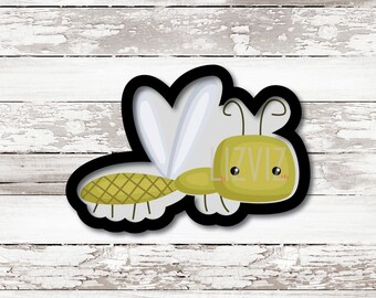 Dragonfly Cookie Cutter. Lightening Bug Cookie Cutter. Firefly.