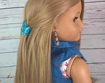 "Custom 10-11"" Doll Wig Fits Most 18"" Dolls Gorgeous ""Champagne"" Ash Blonde Wig- Heat Safe"