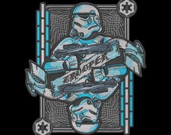 Storm Trooper Embroidery Design
