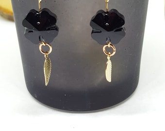 "Earrings ""Fleurs du Mal"""