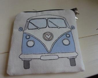 Campervan coin purse