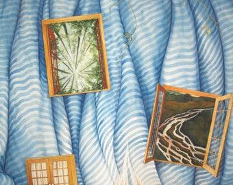 Portals an original watercolor