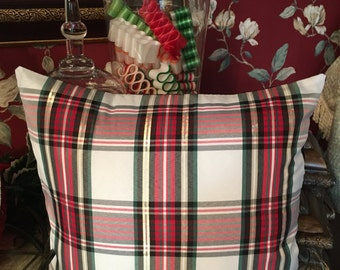 Plaid Pillow Covers/ Set of 2