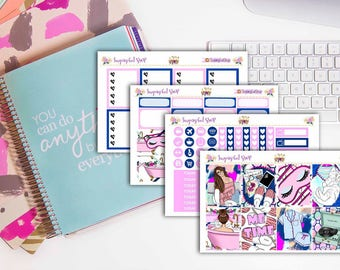 Me Time! Planner Sticker Kit