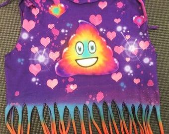 Love Cupcake Fringe Shirt