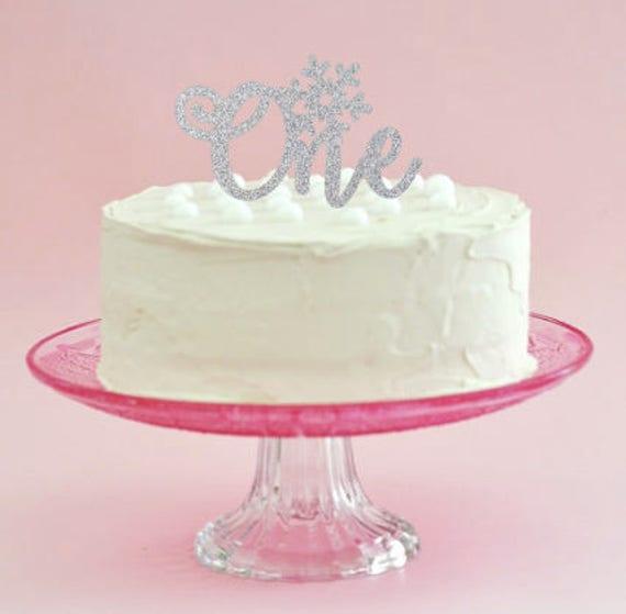 Winter Onederland Cake Topper Onederland First Birthday 1st