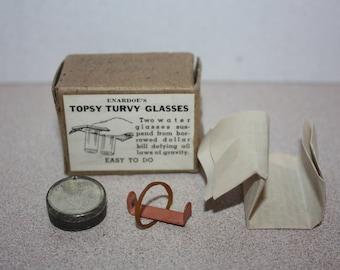 Vintage Enardoe's Topsy Turvy Magician Magic Trick w/ Instructions in box