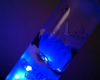 Grey Goose LED bottle light