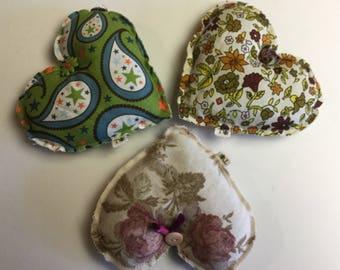 Lavender Heart Sachets!