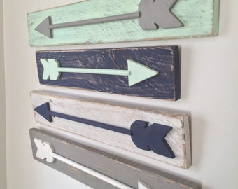 Rustic Wood Arrows