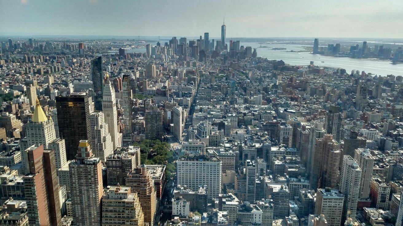 Card new york birds eye view city photography ny greeting card card new york birds eye view city photography ny greeting card blank greeting card and envelope m4hsunfo