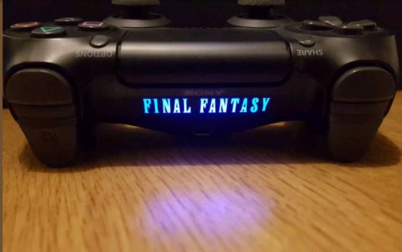 Ps4 controller light bar 6x final fantasy vinyl sticker decal ps4 controller light bar 6x final fantasy vinyl sticker decal playstation 4 aloadofball
